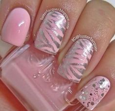tiger pink  | See more nail designs at http://www.nailsss.com/nail-styles-2014/2/