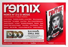 Tapa Remix 212 D-Mode   Lucila Godoy x Pablo Franco