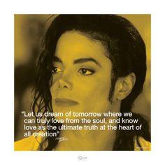Michael Jackson: Dream Unknown Fine Art Print Poster