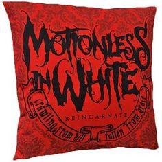 Motionless In White Reincarnate Pillow