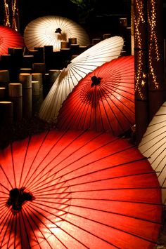 PROPS- red parasol to pop out of gag gun. red to indicate intensity? a different bright color? possibly yellow Red Umbrella, Under My Umbrella, Vintage Umbrella, Japanese Design, Japanese Art, Memoirs Of A Geisha, Art Asiatique, Parasols, Turning Japanese