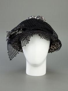 DOLCE & GABBANA - mesh hat 7