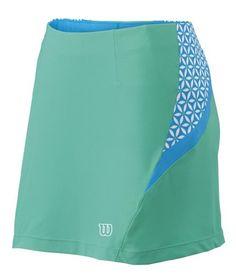 Wilson Women's Guts n Glamour Tennis Skirt – Modern Jade/White « Clothing Impulse
