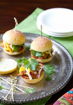 Butter Chicken Sliders #burgers #sliders #LandOLakes