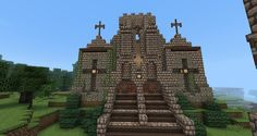 minecraft medieval church| Practice city in the Medieval style. Constructive Criticism ...