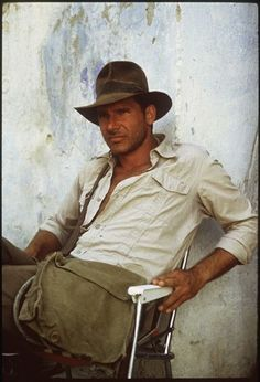 Harrison Ford and Indiana Jones. I'm not sure which person i like better. Harrison Ford or Indiana Jones. I Movie, Movie Stars, 1980's Movies, Harrison Ford Indiana Jones, Beautiful Men, Beautiful People, Actors, Cultura Pop, American Horror Story