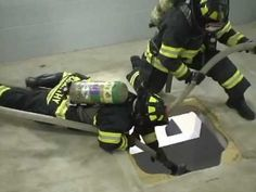 Firefighter Rescue and Survival - The Double Horse Shoe Technique - YouTube