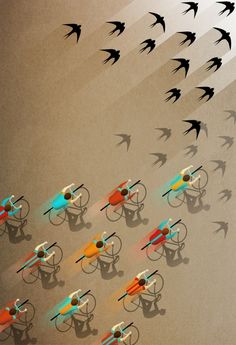 Image of Fall Ride print by Ajda Fortuna