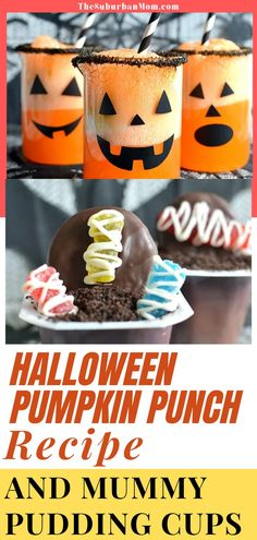 A Halloween party is surely not a Halloween party, without the spooky and delicious party treats! Why not prepare some party food to satisfy all the ghosts in attendance? There will be no boos for sure! Check out the blog for more details on how to make this Halloween Pumpkin Punch Recipe And Mummy Pudding Cups! This fun Halloween activity and party food idea is so delicious yet so easy and quick to make! This quick recipe can surely elevate that rocking party!#drinkrecipe #halloweenpartyconcept Halloween Crafts For Kids, Halloween Activities, Holidays Halloween, Halloween Treats, Halloween Pumpkins, Halloween Fun, Pudding Cups, Punch Recipes, Party Treats