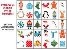 Scuola dell 39 infanzia classe sezioni bambini maestra emily decorazioni pannello idee for Tombola di natale da stampare
