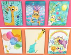 Sunshine & Roses Custom Content: Nursery/ Kid's Room Portrait Canvases
