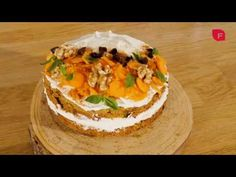 Cocina con Fit Happy Sisters - Carrot Cake - YouTube Happy Sisters, Cake Youtube, Carrot Cake, Carrots, Fit, Desserts, Rolled Oats, Tart Recipes, Pastries