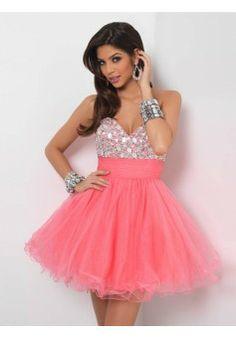 A-line Sweetheart Sleeveless Short/Mini Tulle Homecoming Dresses/Short Prom Dresses #FD030 - See more at: http://www.aviva-dress.com/prom-dresses/short-prom-dresses.html?p=3#sthash.G2EkuCtn.dpuf