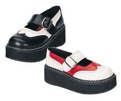 "EMILY-302 * 2"" High Demonia Shoes Pleaser"