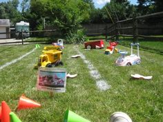 toy story party obstacle course