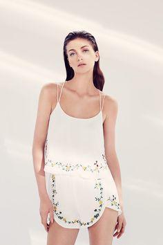 Lefties Verão 2014 - mini saia floral