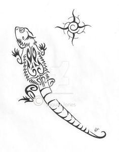 tattoos of bearded dragon
