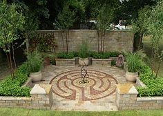 Labyrinth Designs Garden find this pin and more on labyrinth A Serious Garden Needs A Labyrinth I Envision A More Natural One But I
