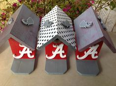 BAMA FEVER  Birdhouses - University of Alabama