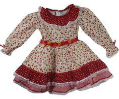 vestido festa junina - Pesquisa Google Toddler Outfits, Girl Outfits, Kids Wear, Frocks, Baby Dress, Doll Clothes, Ideias Fashion, Rompers, Glamour