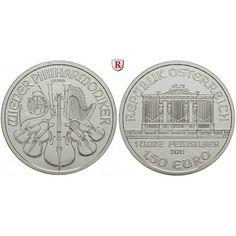 Österreich, 2. Republik, 1,50 Euro div., 31,1 g fein, bfr.: 2. Republik seit 1945. 1,50 Euro 31,1 g fein, div. 31,1g Feinsilber… #coins