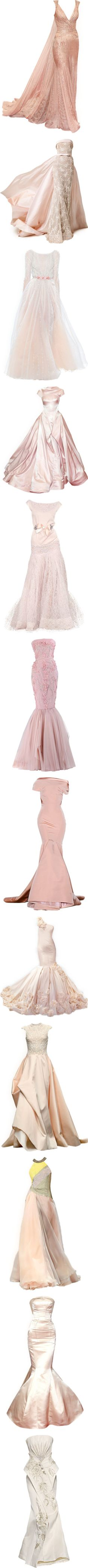 Pink Princess by kari-c on Polyvore featuring women's fashion, dresses, gowns, long dresses, vestidos, red gown, red carpet long dresses, red carpet evening gowns, red ball gown and long red evening dress