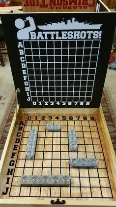 Tailgating Battleshots / Beer Pong Table