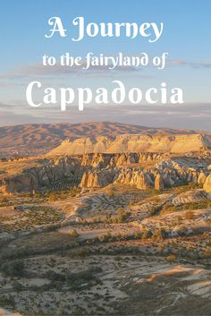 Discover the beautiful fairyland of Cappadocia in Turkey. Amazing rock formations and a stunning landscape are the heart of Cappadocia!