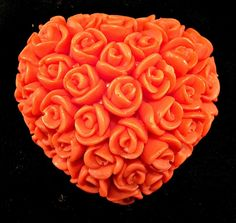 SOAP....Heart of Roses by SweetScentsByKendra on Etsy, $2.50