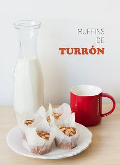 Muffins de turrón - Lost in cupcakes