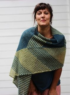 Joss wrap by Truly Myrtle Designs available on Ravelry