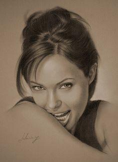rysunek Jolie