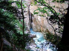 Grand Canyon du Verdon - Sentier de l'Imbut et Sentier Vidal (les sentiers techniques)