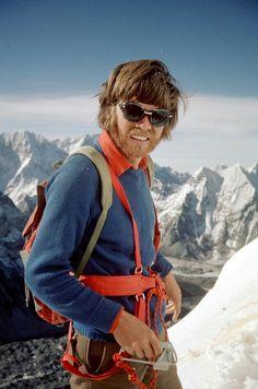 Reinhold Messner - mountain climber