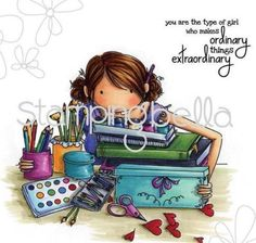 New-Stamping-Bella-Cling-Rubber-Stamp-Uptown-Girl-Callista-Loves-To-Craft