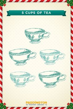 FIIIIIIIIVE CUPS OF TEAAAAAAAAAA.   Paddington
