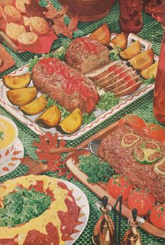 Gala Mest Loaf Festival!  (Meat Cook Book, 1967!