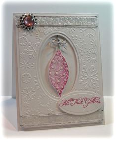 Flourishes stamps and Spellbinders | http://cutegreetingcards.blogspot.com