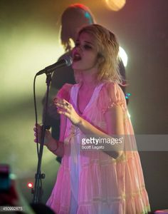 Sky Ferreira performs in concert at Majestic Theater on November 20, 2013 in Detroit, Michigan.