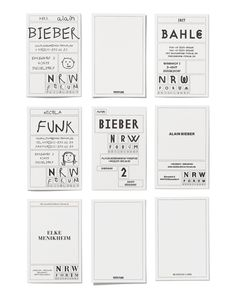 Kessels Kramer – Identity system for German cultural centre NRW Forum