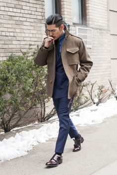 MenStyle1- Men's Style Blog - Winter Inspiration. FOLLOW : Guidomaggi Shoes...