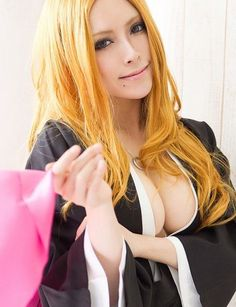Rangiku Matsumoto cosplay. (BLEACH) not a Rangiku fan, but really good cosplay! She looks just like her!