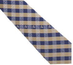 Los Angeles Rams Tie Woven Poly Check Tie