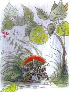 Szutyejev: A gomba alatt