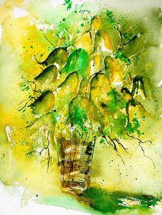 Watercolor 90801 Print By Pol Ledent