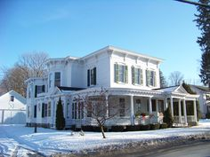 Dr. Christopher S. Best House and Office in Schoharie County, New York.