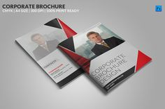 Check out 8 Page Corporate Bifold Brochure by WonderShop on Creative Market