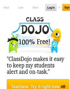 Class DoJo- The best classroom management system I've seen in a class while substituting. Kids work so hard to earn a point. You can also customize negative/ positive behaviors that occur in your class. All my teacher friends should pin this!