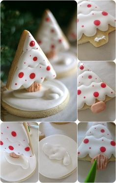 Pink Little Cake: Last Minute Inspiration-Chritsmas Tree Cookies