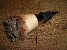 Oak Burl Bottle Stopper  #T14-12005 on Etsy, $22.00